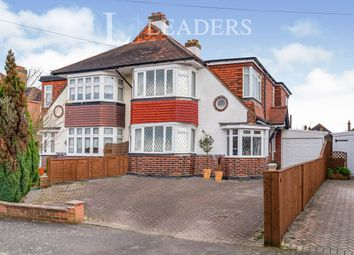 Thumbnail 4 bed semi-detached house to rent in Woodstone Avenue, Epsom