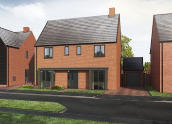 Thumbnail 4 bed detached house for sale in Derby Road, Wingerworth, Chesterfield