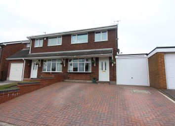 Thumbnail 3 bed semi-detached house for sale in Farnworth Road, Longton, Stoke-On-Trent