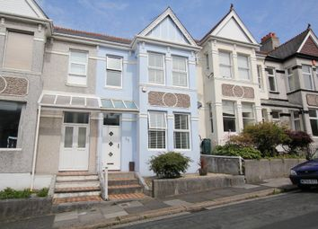 Thumbnail 3 bedroom terraced house to rent in Endsleigh Park Road, Plymouth