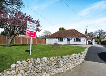 Thumbnail 3 bedroom detached bungalow for sale in Stocks Lane, Blofield, Norwich