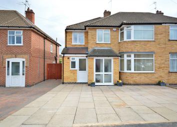 Thumbnail 4 bedroom semi-detached house for sale in Eastway Road, Wigston