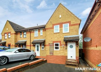Thumbnail 2 bed end terrace house for sale in Knowle Close, Rednal