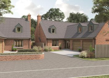 Thumbnail 4 bed detached house for sale in The Ashes, Workhouse Lane, Burbage, Hinckley, Leicestershire