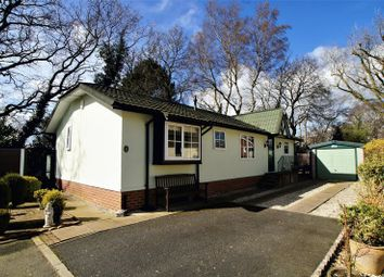 Thumbnail 2 bed mobile/park home for sale in The Oaks, Mount Pleasant Residential Park, Goostrey, Crewe