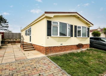 Thumbnail 2 bed mobile/park home for sale in Willowbrook Park, Lancing, West Sussex
