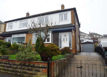 Thumbnail 3 bed semi-detached house for sale in Greenside Drive, Waterloo, Huddersfied