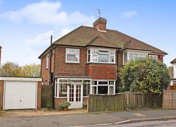 Thumbnail 3 bed semi-detached house for sale in Southmead Road, Aldershot