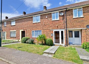 Thumbnail 3 bed terraced house for sale in Mereworth Close, Twydall, Gillingham, Kent