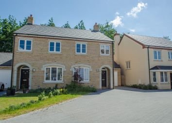 Thumbnail 3 bed semi-detached house for sale in Beatrice Place, Fairfield, Hitchin, Bedfordshire