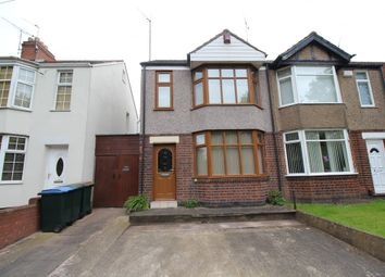 Thumbnail 3 bed semi-detached house for sale in Swan Lane, Coventry