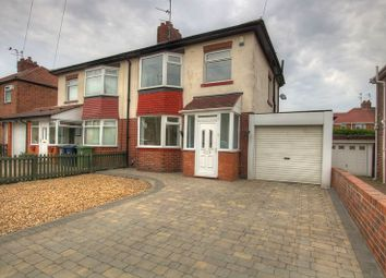 Thumbnail 3 bed semi-detached house to rent in Mill Lane, Hebburn, South Tyneside