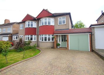 Thumbnail 3 bed semi-detached house for sale in Lewis Road, Sidcup, Kent