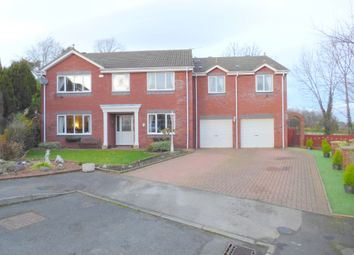 Thumbnail 5 bedroom detached house for sale in The Copse, Etherley Lane, Bishop Auckland