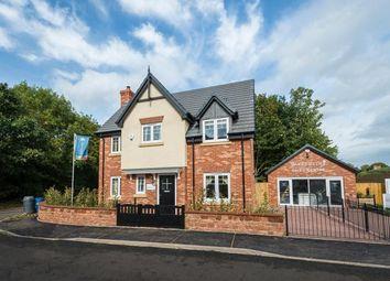 Thumbnail 4 bed detached house for sale in Prescott Road, Baschurch, Shrewsbury