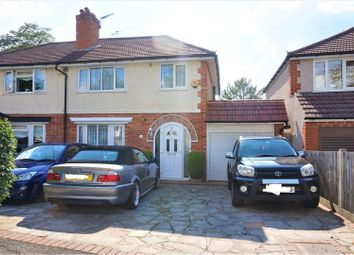 Thumbnail 3 bed semi-detached house for sale in Rylandes Road, South Croydon