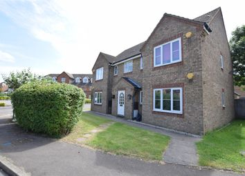 Thumbnail 1 bed flat to rent in Messant Close, Harold Wood, Romford