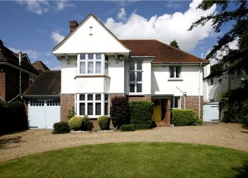 Thumbnail 4 bed detached house for sale in Langley Avenue, Surbiton