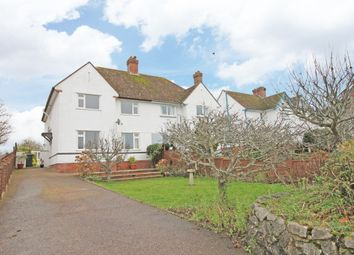 Thumbnail 4 bed semi-detached house to rent in Newcourt Road, Topsham, Exeter
