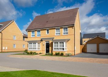 """Thumbnail 4 bedroom detached house for sale in """"Alnwick"""" at Fen Street, Brooklands, Milton Keynes"""
