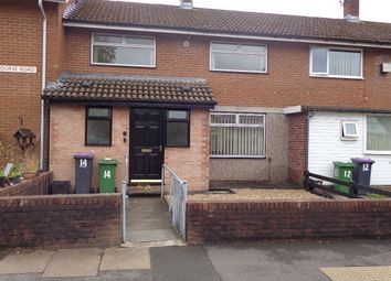 Thumbnail 2 bedroom terraced house to rent in Llangorse Road, Llanyravon, Cwmbran