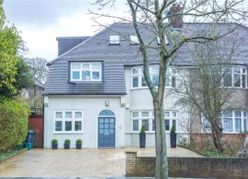 Thumbnail 5 bed semi-detached house for sale in Twyford Avenue, East Finchley, London