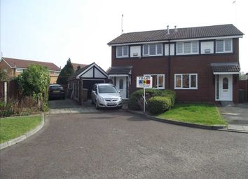 Thumbnail 3 bed semi-detached house to rent in Crowmarsh Close, Upton, Wirral