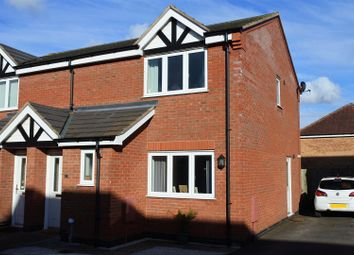 Thumbnail 3 bed semi-detached house for sale in Woodbrook, Grantham