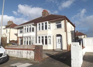 Thumbnail 3 bed semi-detached house to rent in Calder Road, Blackpool