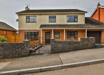 Thumbnail 4 bed detached house for sale in St. Johns Close, Cefn Coed, Merthyr Tydfil