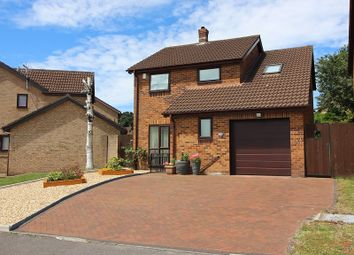 Thumbnail 4 bedroom detached house for sale in Tremains Court, Brackla, Bridgend, Bridgend County.