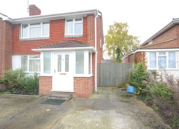 Thumbnail 3 bed semi-detached house to rent in Quentin Road, Woodley, Reading