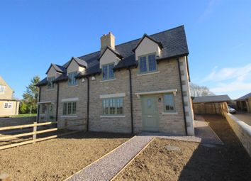 Thumbnail 3 bed semi-detached house for sale in Church Row, Bourton, Swindon
