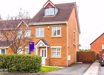 Thumbnail 4 bed town house for sale in Garden Vale, Leigh, Lancashire