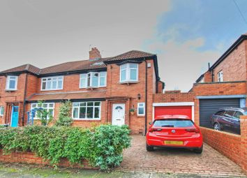 Thumbnail 5 bedroom semi-detached house for sale in The Riding, Kenton, Newcastle Upon Tyne