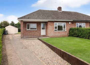 Thumbnail 2 bed semi-detached bungalow for sale in Glebe Way, Horstead, Norwich