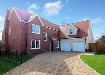 Thumbnail 5 bed detached house for sale in Straight Road, Foxhall, Ipswich, Suffolk