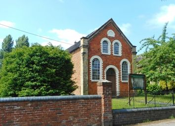 Thumbnail Commercial property for sale in Former Primitive Methodist Chapel, 14 Shrewsbury Road, Newport, Shropshire