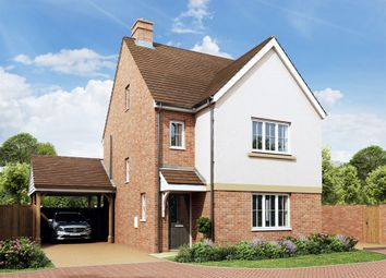 "Thumbnail 4 bedroom detached house for sale in ""The Lumley"" at Rattle Road, Westham, Pevensey"