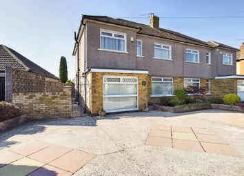 Thumbnail 4 bed semi-detached house for sale in Heol Briwnant, Rhiwbina, Cardiff.