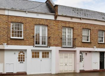 Thumbnail 1 bed mews house to rent in Royal Crescent Mews, London