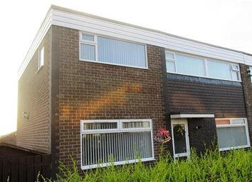 Thumbnail 5 bedroom semi-detached house for sale in Clifton Walk, Chapel Park, Newcastle Upon Tyne