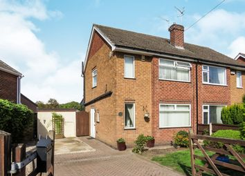 Thumbnail 3 bed semi-detached house for sale in Greenhills Road, Eastwood, Nottingham