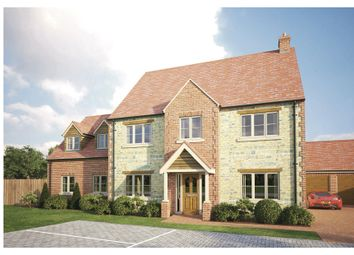 Thumbnail 5 bedroom detached house for sale in Old Brickyard Close, Lavendon, Olney