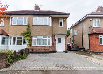 Thumbnail 3 bed semi-detached house to rent in Burnham Avenue, Uxbridge