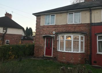 Thumbnail 1 bed flat to rent in Finchley Road, Kingstanding, Birmingham