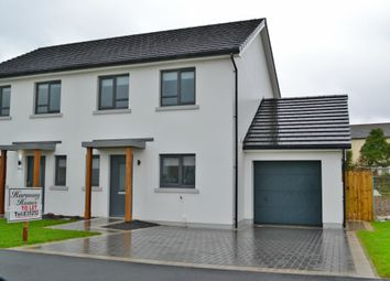 Thumbnail 3 bed semi-detached house to rent in Fleshwick, Ballakilley, Port St. Mary, Isle Of Man
