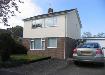 Thumbnail 3 bed detached house to rent in Sycamore Drive, Frimley, Camberley