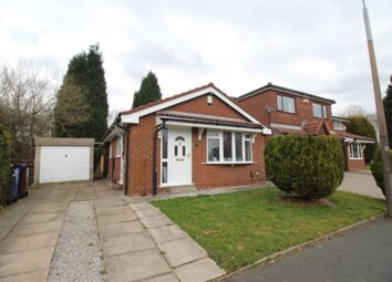Thumbnail 2 bed bungalow for sale in Nightingale Drive, Audenshaw, Manchester