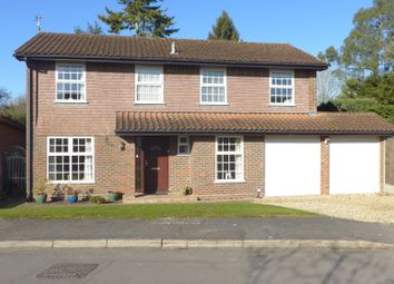 Thumbnail 4 bed detached house for sale in Southern Haye, Hartley Wintney, Hook